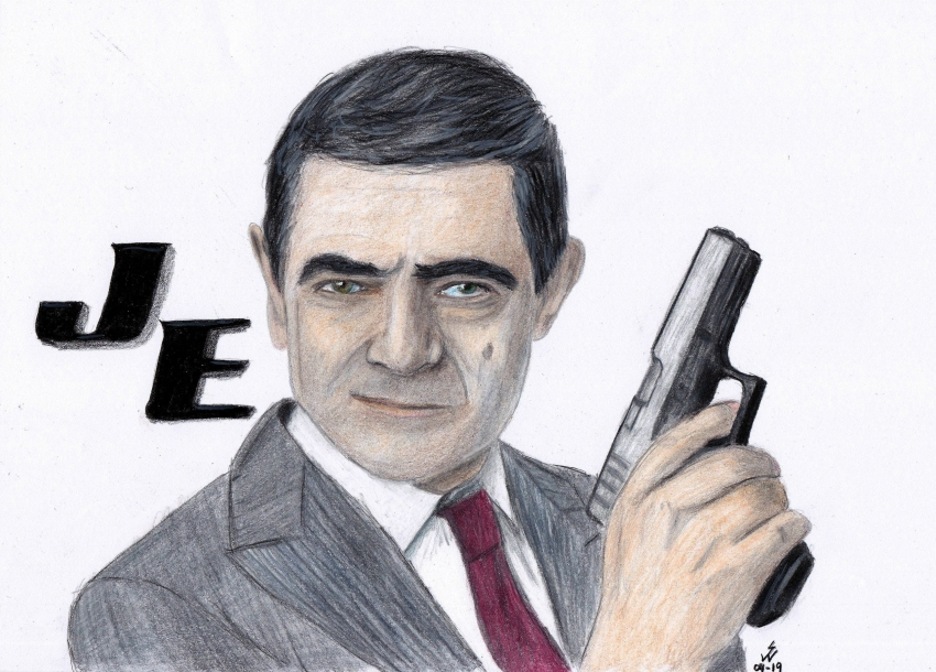 Rowan Atkinson by monkfan1992